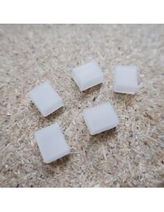 Silizium-Endkappe für 10 mm IP68-LED-Streifen
