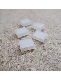 Silizium-Endkappe für 12 mm IP68-LED-Streifen