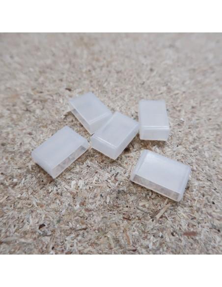 Silizium-Endkappe für 14 mm IP67/68 LED-Streifen (10 pcs)