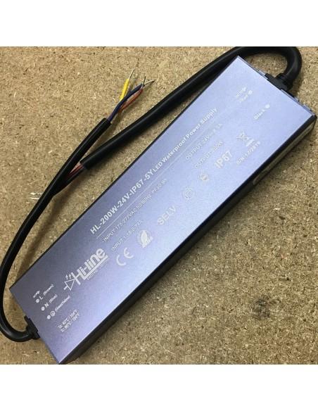"""LED-Treiber """"Premiumserie"""" 200W 24V IP67"""