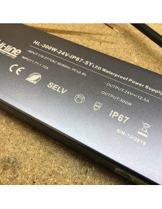 constant voltage 300W 24V IP67 LED power supply