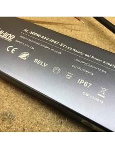 LED-Treiber 300W Premium-serie 24V IP67