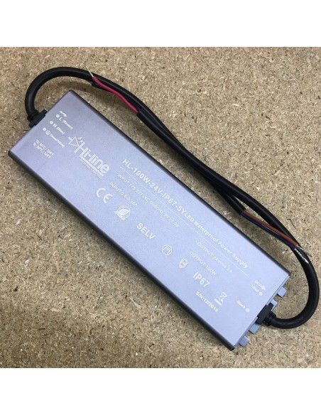 LED-Driver 100W Premium Series 24V IP67 Constant Voltage
