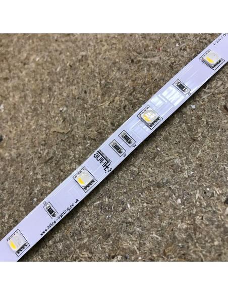 7.2 w/m RGBW LED-Streifen (RGB+WW) 24V IP00 5m rolle