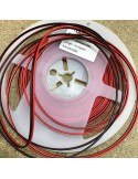 AWG 20 - 2 cores Red/Black LED strip wire 10m roll