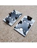 Aluminium Magnetic End Cap for HL-7380 Profile Series
