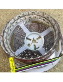 IP54/65 - RGB + Tunable white LED strip 24 w/m - 5 in 1 LED chip