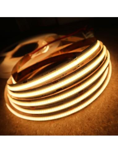 COB LED Strip 3000K CRI+90 - 528 LEDs/m - 5m roll