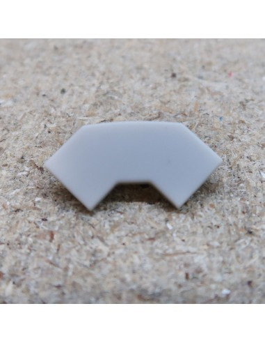 Closed End Cap for TCT2 (Tile LED profile extrusion)