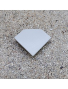 Closed End Cap for TCT3 (Tile LED profile extrusion)