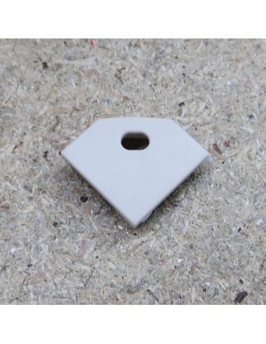 Open End Cap for TCT3 (Tile LED profile extrusion)