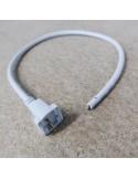 2 pin Reverse Side End-Exit power Cable for single colour flex