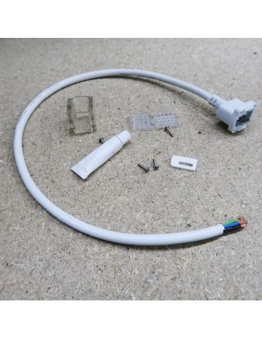 Rückseite End-Exit-Kabel für Neon Flex LED-Streifen