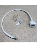 Reverse Side End-Exit power Cable for RGBW LED Neon Flex