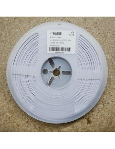 Flat 6 cores RGB+Tunable White LED cable 20 meters ribbon roll