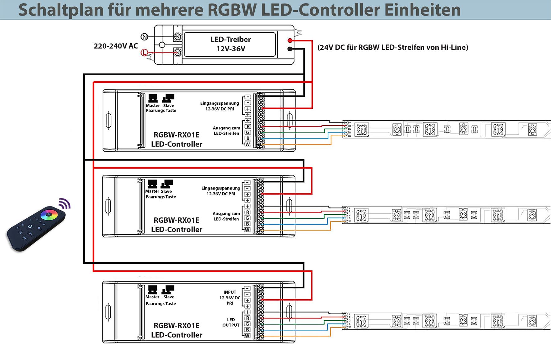 Tolle Verdrahtung Einer Led Ideen - Elektrische Schaltplan-Ideen ...