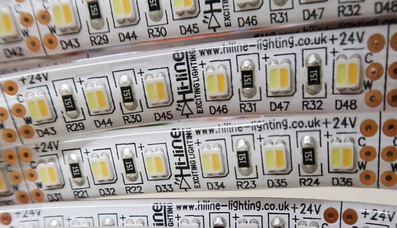 Abstimmbare weiße LED-Streifen